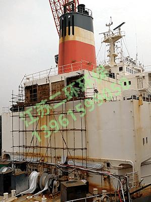 远洋海轮汽轮机除尘器
