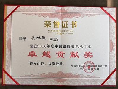 二环环保-卓越贡献奖