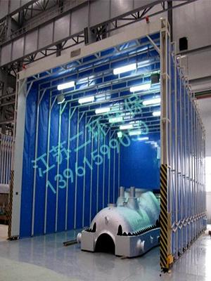 折叠式移动焊烟房除尘器
