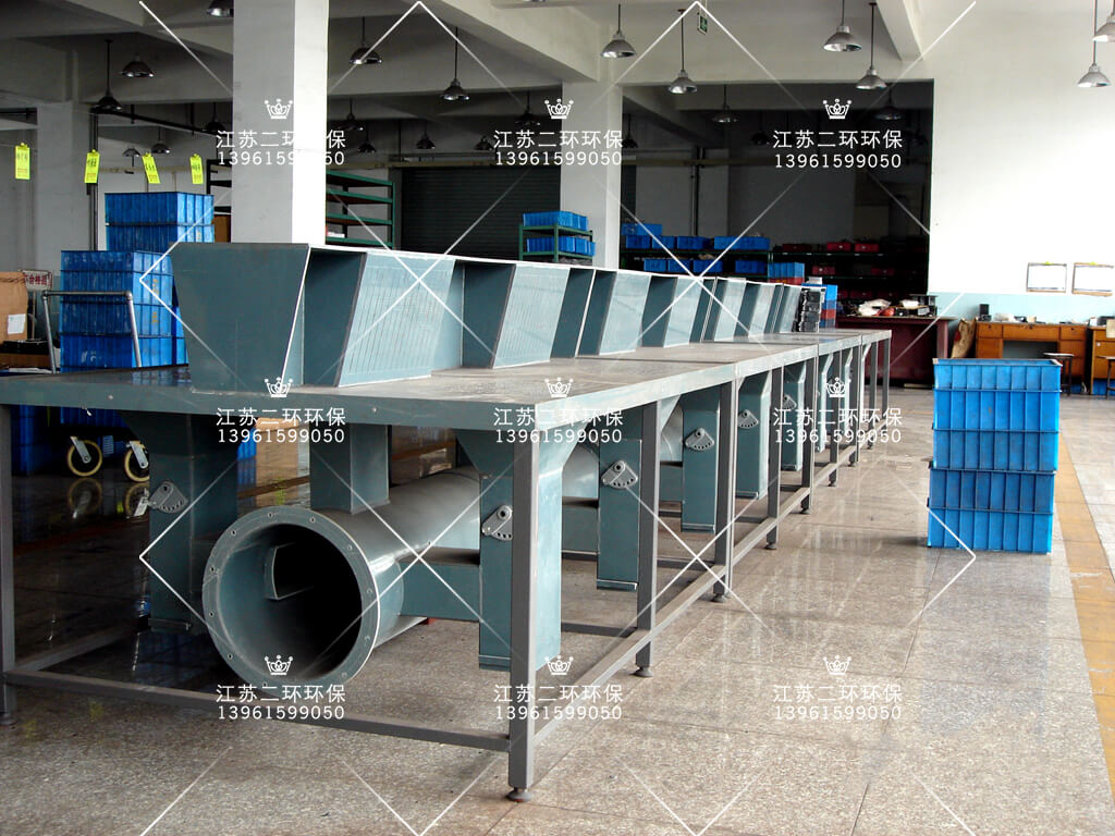 PVC塑料无动力打磨工作台