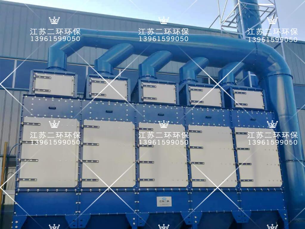 安徽超威电源有限公司垂直式滤筒除尘器