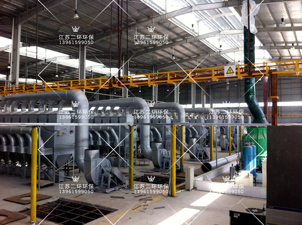 河南超威电源有限公司滤筒除尘器