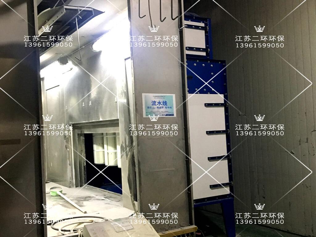 江苏今创集团涂装喷粉零排放