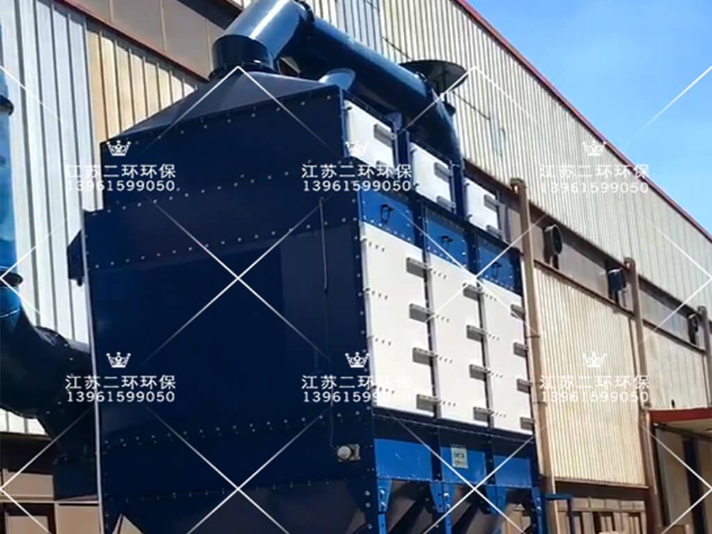 无锡天辰冷拉型钢有限公司喷砂抛丸除尘器