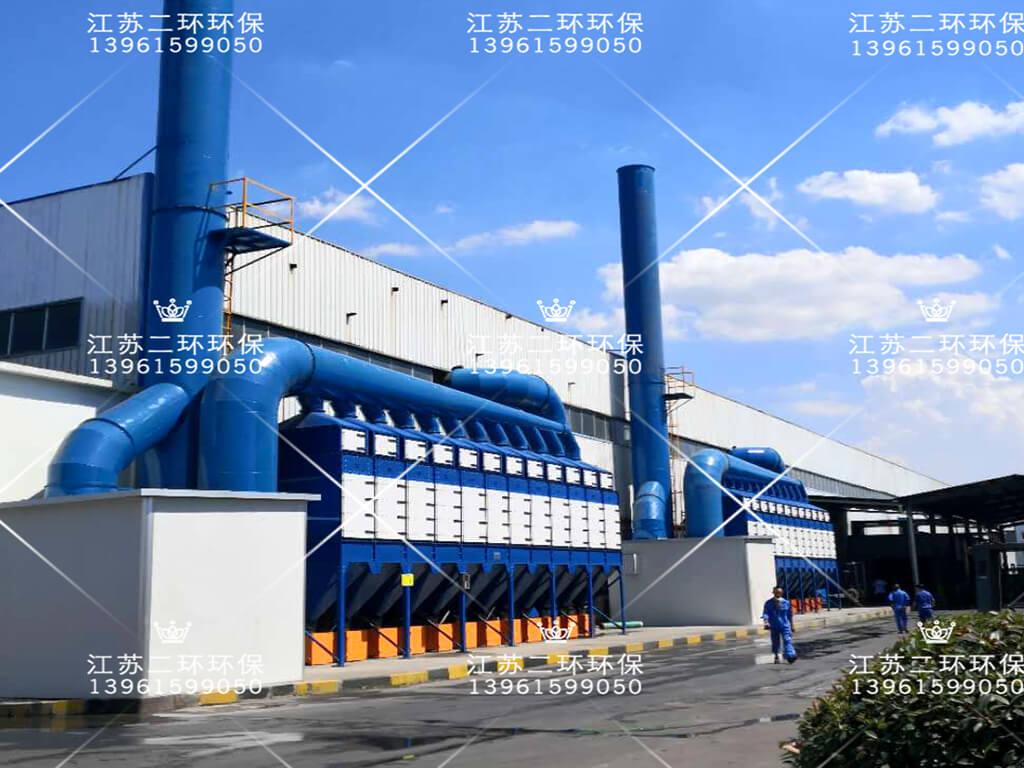 山东超威电源有限公司垂直式滤筒除尘器