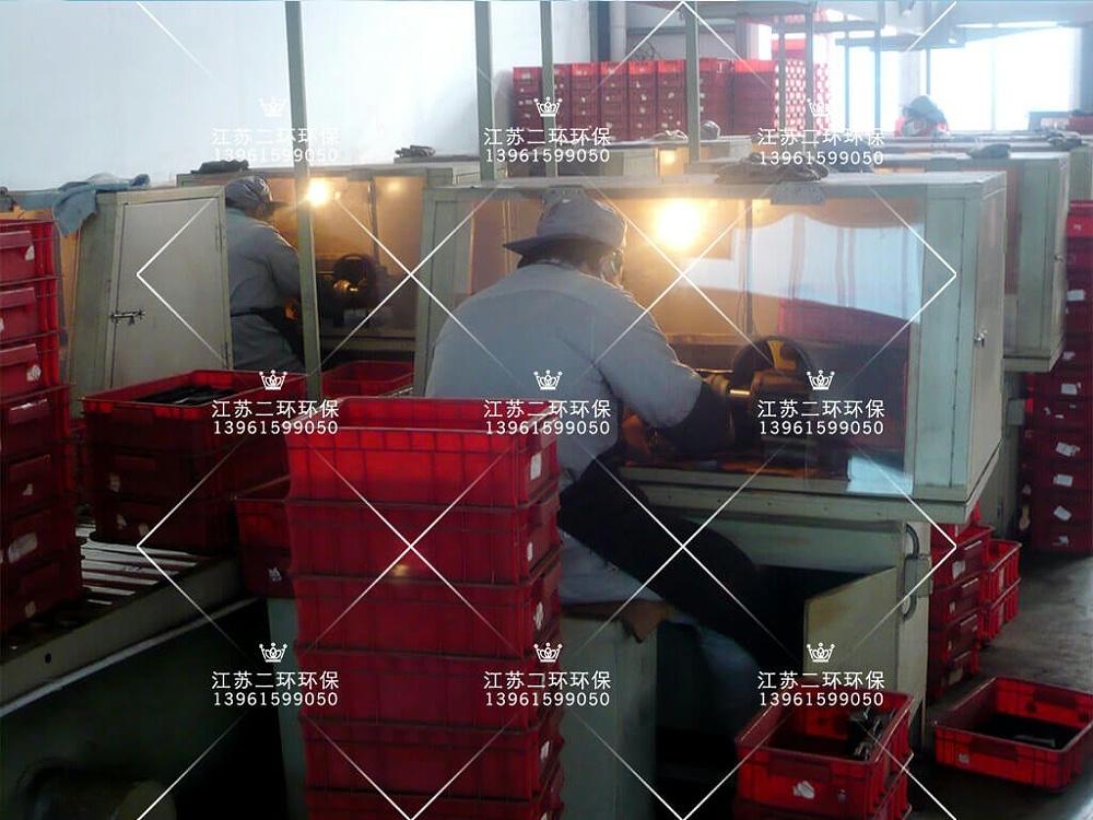 多岗位打磨集中处理除尘器
