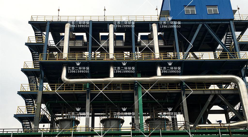 陕西榆林延长石油扁布袋除尘器案例