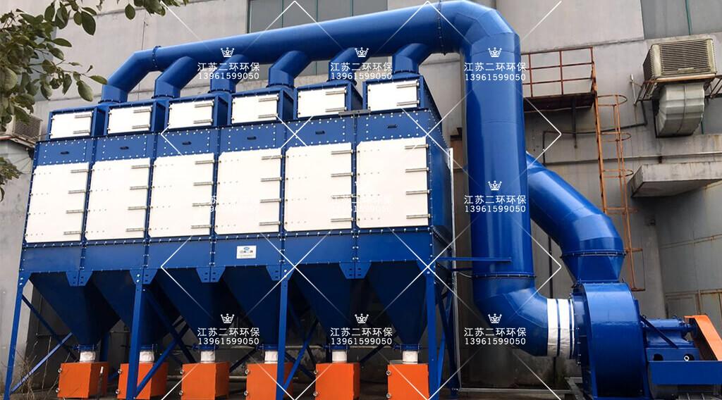 诺力集团打磨工位滤筒除尘器案例