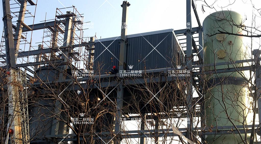 南京江宇石化RTO高温布袋除尘器项目案例