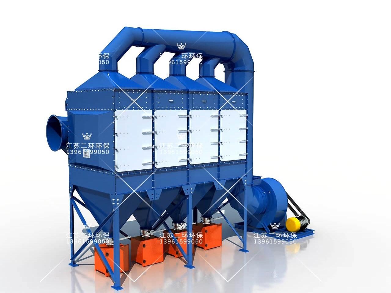 矿山单机除尘器的适用范围