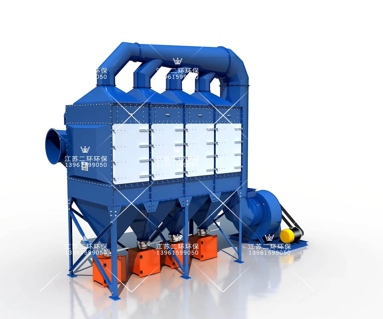 垂直式滤筒除尘器
