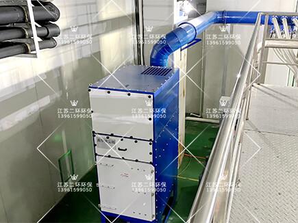 DHC垂直式滤筒除尘器一体机