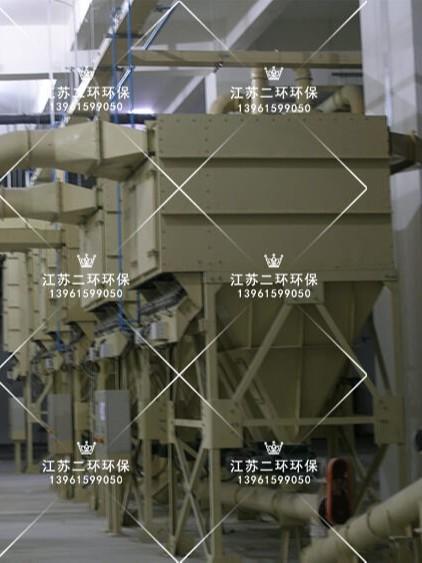 废气排放小于1毫克-DLMC模块式扁布袋除尘器